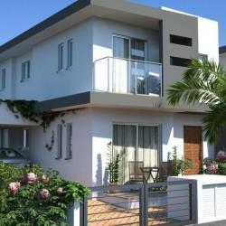 A Semi Detached Modern Unfurnished Three Bedroom Three Bathroom House For Sale In Pervolia Larnaca 2