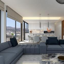 Three Bedrooms New Apartment For Sale In Germasogia Tourist Area