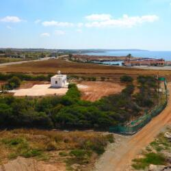 Investment Opportunity 5000m2 Beachfront Land For Sale Ormidhia Dhekelia With A Small Bungalow